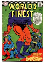 WORLDS FINEST #158 comic book 1966-DC COMICS-BATMAN-SUPERMAN - $20.18