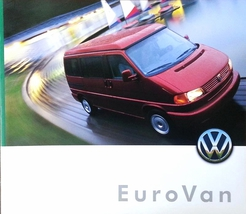 2000 Volkswagen EUROVAN dlx sales brochure catalog 00 VW GLS MV - $15.00