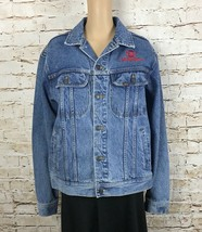 Lee Jean Denim Jacket VH1 Collection Classic Music First Logo Women's Si... - $63.11
