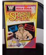 1991 WWF Hulk Hogan Sparkle Art By Colorforms New In The Box - $27.99