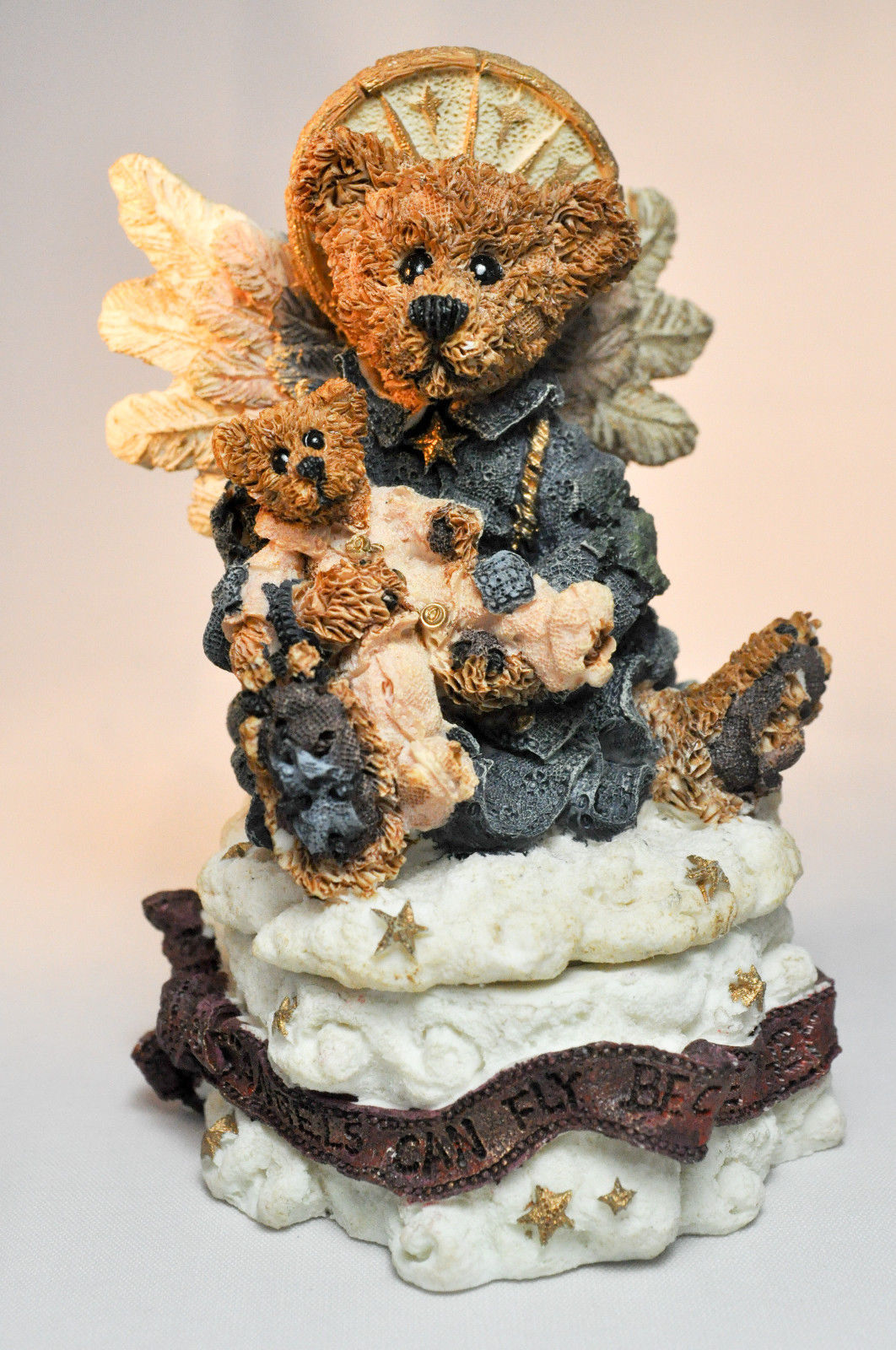 Boyds Bears: Angelica The Guardian - Style 2266 - First Edition 1E/230 - Trinket