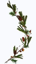 """Worth Imports 48"""" Country Pine W/Pinecone and Rusty Bell Garland, GreenB... - $25.91"""