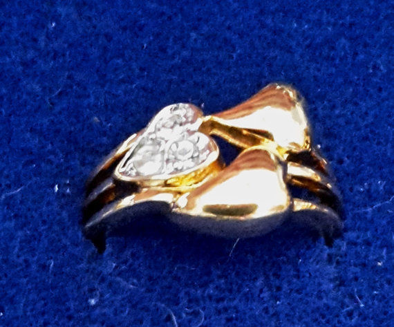 Your Choice of Vintage 14K & 18K Gold FIlled Rings - variety of styles and stone