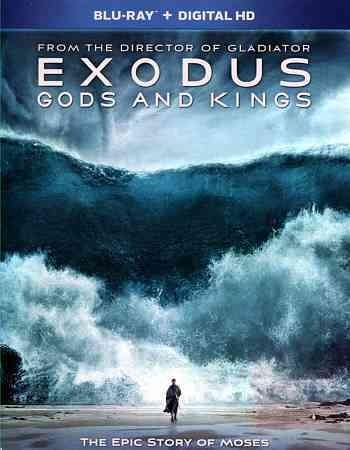 Exodus: Gods and Kings (Blu-ray Disc, 2015)