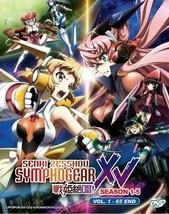 Senki Zesshou SYMPHOGEAR Series Season 1-5 (1-65 End) Ship From USA