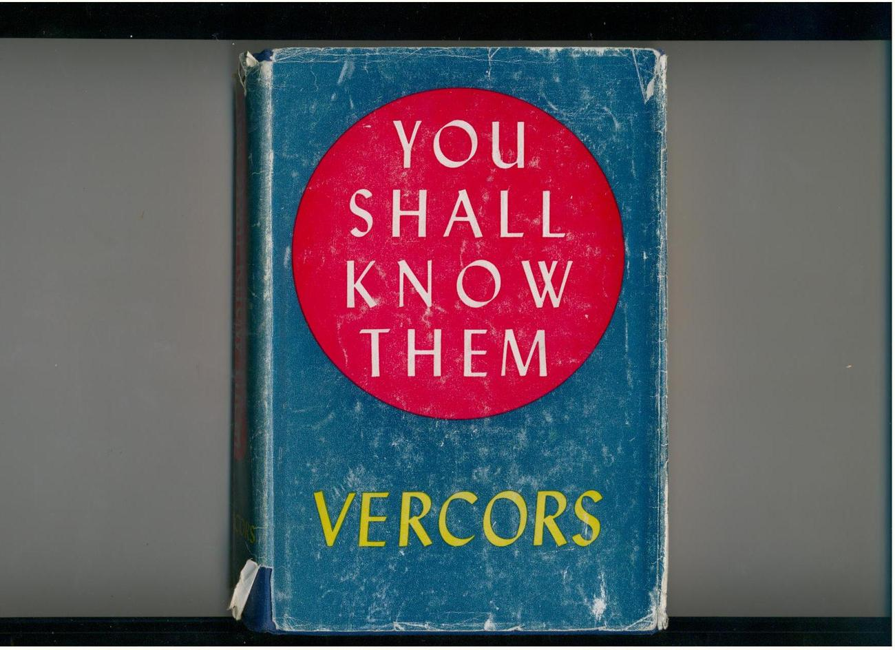 Vercors - YOU SHALL KNOW THEM-science fantasy