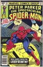 The Spectacular Spider-Man Comic Book #35 Marvel 1979 VERY GOOD+ - $2.25