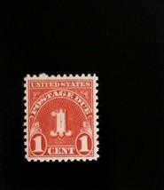 1931 1c Postage Due, Carmine Scott J80 Mint F/VF NH - $2.19