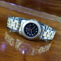New Vintage Womens WILSON Stainless Steel & Gold Sport Watch with Date  - $39.95