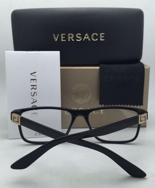 New VERSACE Rx-able Eyeglasses VE 3211 108 55-17 145 Tortoise Havana Frames