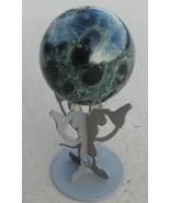 Indigo Gabbro Basalt Merlinite Sphere Mineral - $25.00