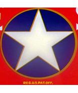 Patriotic! White Star Crate Label, 1940's  - $2.49