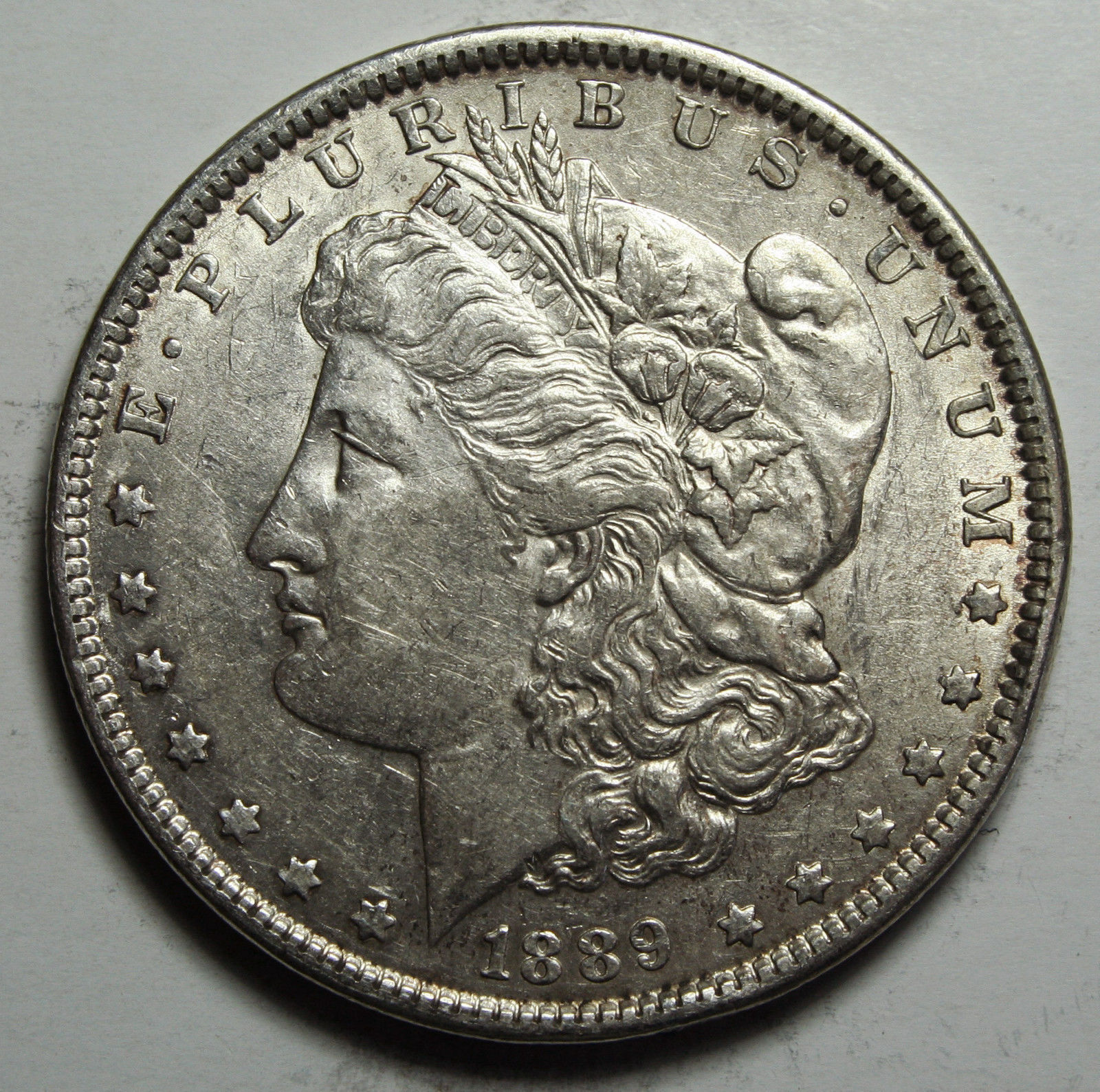 1889 MORGAN SILVER DOLLAR COIN Lot# D 39