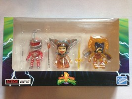 Mighty Power Rangers ~Crystal Villain Exclusive~ Action Vinyls New! - $11.50