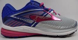 Brooks Ravenna 8 Women's Running Shoes Size US 7 M (B) EU 38 Silver 1202381B089