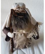 "9"" CHRISTMAS xmas NATIVITY SHEPHERD Plush fabric STUFFED doll decoration... - $33.65"