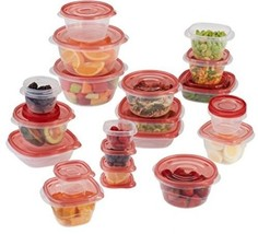 Rubbermaid TakeAlongs Assorted Food Storage Container, 40 Piece Set, Rac... - $24.19
