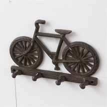 Rustic new BICYCLE wall Key Rack - $21.99