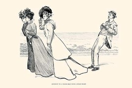 Accident to a Young Man with a Weak Heart by Charles Dana Gibson - Art Print - $19.99+