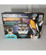 4D Space Exploration Augmented Reality Cards & Virtual Reality Headset New - $22.24