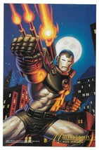 1994 Fleer Marvel War Machine MasterPrints Card - $2.97