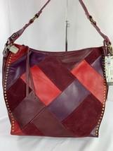 The Sak Silverlake Patchwork Leather Hobo Bag MSRP: $199 - $55.00