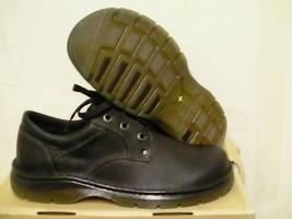 Mens Dr martens shoes zak plain toe shoe size 8 us BLACKS - $79.15