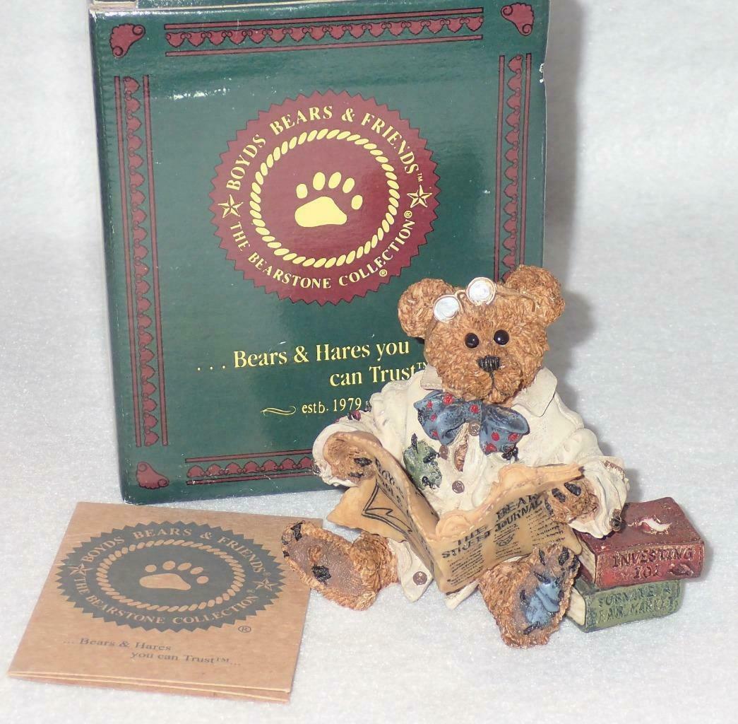 Boyd Bearstone Resin Bears Dean Newbearger III Bears & Bulls Figurine #227715 image 3
