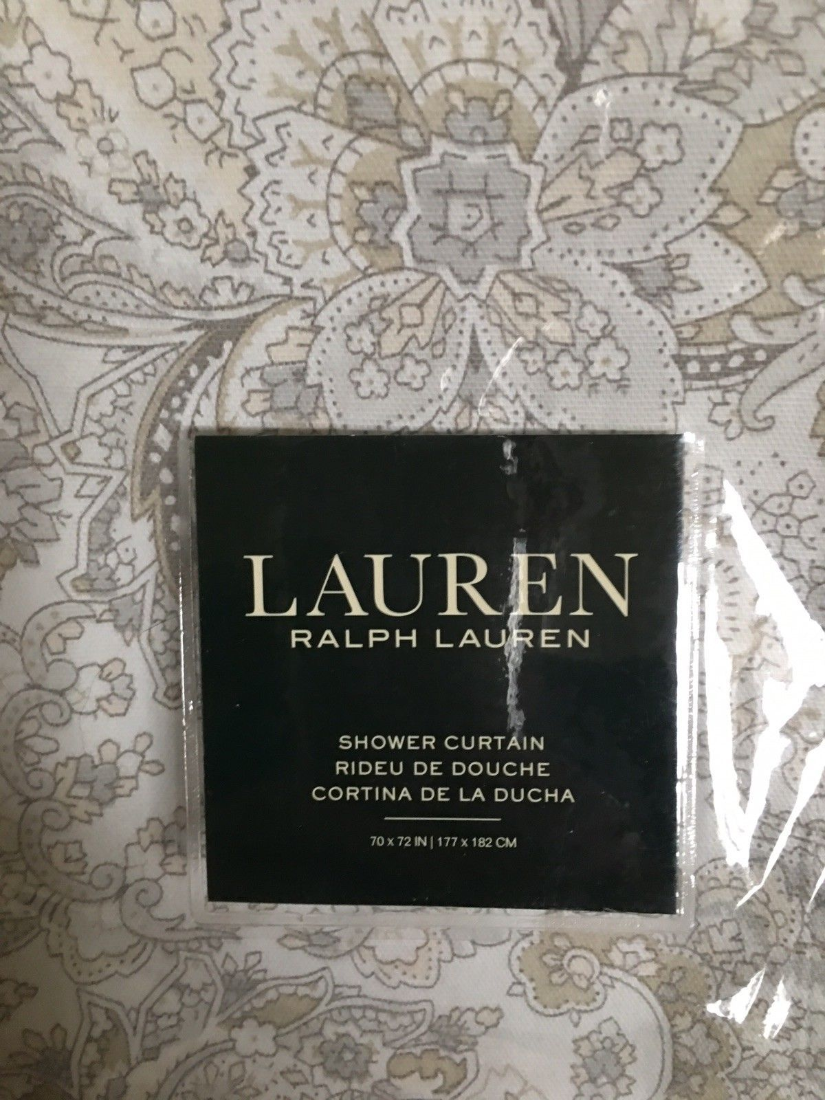 Ralph Lauren Tara Paisley Natural 100 And 50 Similar Items
