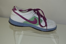 NIKE LEATHER MULIT COLORED SNEAKERS WOMEN'S SHOES SIZE 7 - £14.71 GBP
