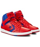 Converse Mens Weapon Mid Leather 144546C Red/Blue/White Multi Sizes NWB - $106.58
