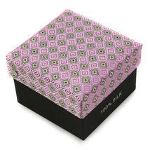 Berlioni Men's Silk Neck Tie Accessory Box Set With Cufflinks & Pocket Square image 11