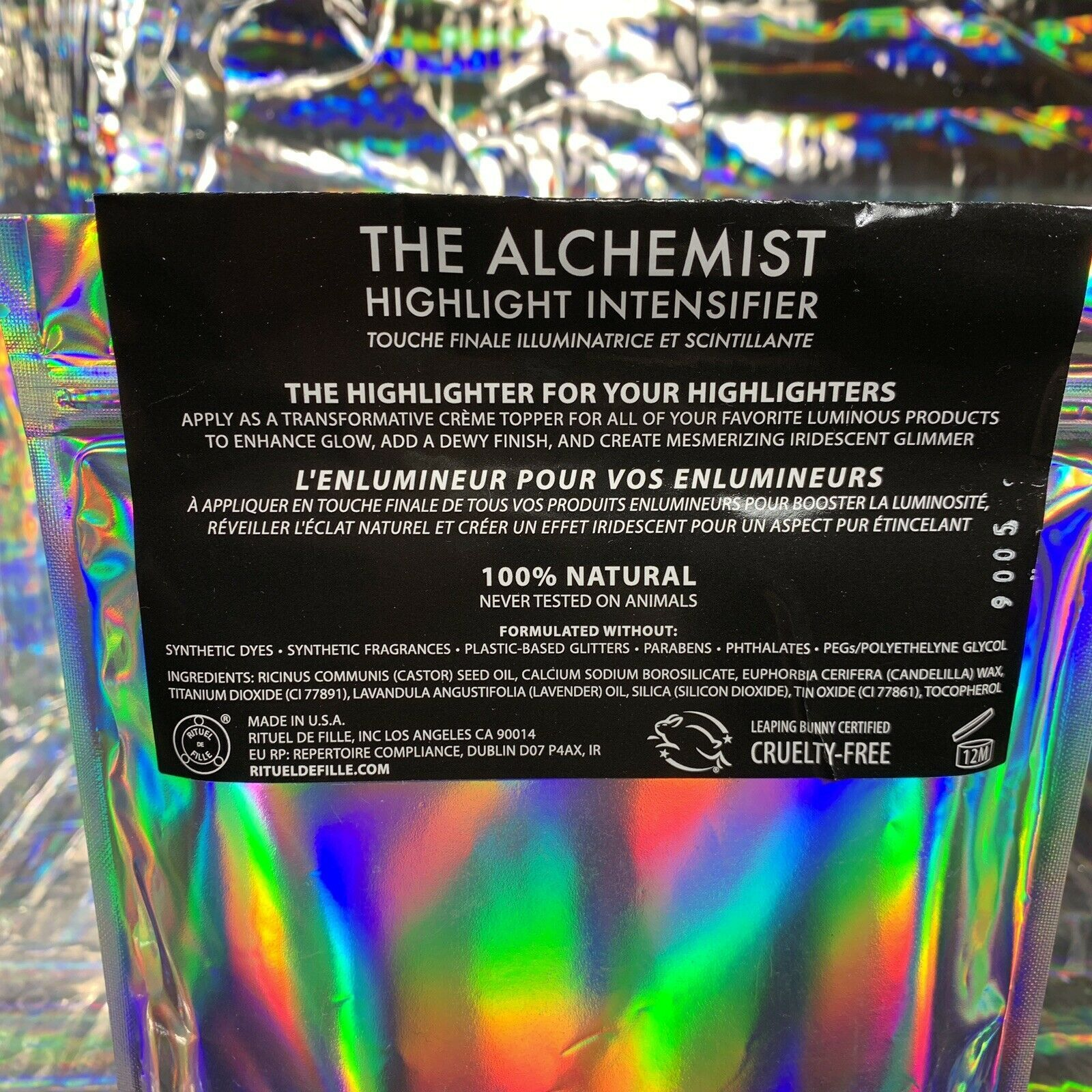 Sealed NEW Rituel De Fille The Alchemist Highlight Intensifier 5.4g