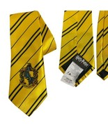 Harry Potter Hufflepuff House Tie Wizards Hogwarts World Color: Yellow - $7.31