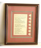 Laura Leiden Framed Calligraphy Print,  - $7.99