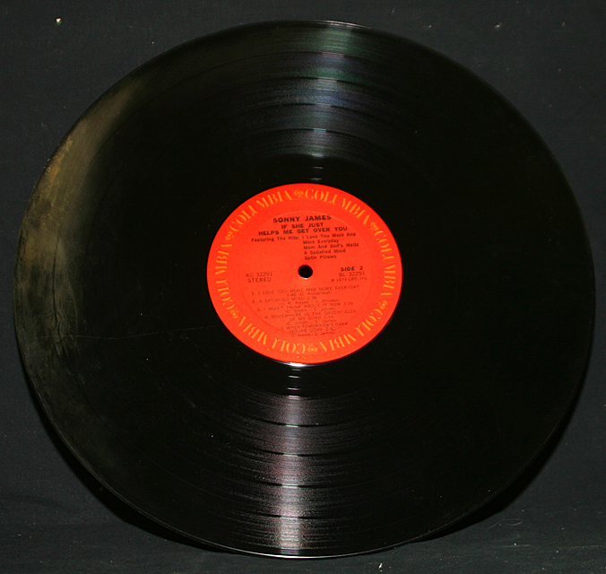 """Sonny James  """"If She Just Helps Me Get Over You""""  Columbia Records KC-32291   LP"""