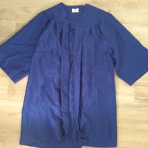 Royal Blue GRADUATION GOWN Robe Cape School Halloween  - $23.76
