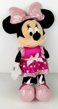 Disney Minnie Mouse Bows-a-Glow Light Up Battery Operated Plush Tested W... - $14.99