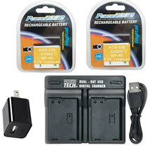 2X LB-060 Battery + Charger for Kodak PIXPRO AZ522 AZ521 AZ501 AZ421 AZ3... - $23.39