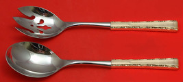 Madrigal by Lunt Sterling Silver Salad Serving Set 2pc HHWS  Custom Made - $127.40