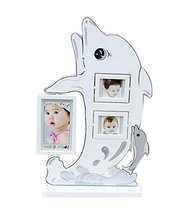 5 inch+3 inch Creative Cartoon Swing Sets Children's Photo Frame Dolphin Model