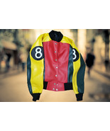 WOMEN 8 BALL POOL STYLISH VARSITY JACKET - $89.99