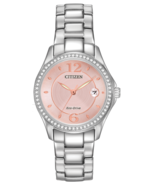 Citizen FE1140-86X Women's Eco Drive Stainless Steel Silhouette Crystal ... - $109.99