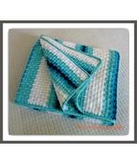 CROCHET PATTERN - Aqua Dreams Afghan, crochet, afghan, blanket, throw, c... - $4.99
