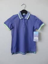 Nwt Ivivva By Lululemon Purple We Run The Green Girl's Pique Polo 10 & Free Bag - $48.49