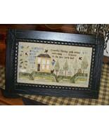Cheerful Spring cross stitch chart Chessie & Me   - $9.00