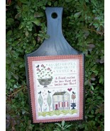 Hand of Friendship Sampler cross stitch chart Chessie & Me   - $9.00
