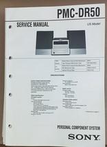 Sony  PMC-DR50 Minidisc Stereo Service Manual *Original* - $18.53