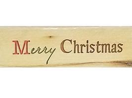 Studio 18 Merry Christmas Rubber Stamp