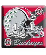 OHIO STATE BUCKEYES UNIVERSITY FOOTBALL TEAM2  GANG LIGHT SWITCH ROOM HO... - $12.99